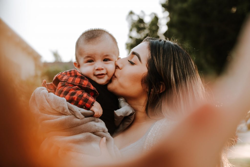 Is it safe to kiss your baby's ears?